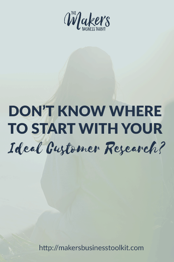 Don't Know Where to Start with your Ideal Customer Research? Try This.